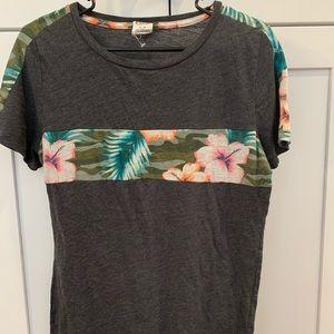 Victoria secret Pink Hawaiian shirt medium tee